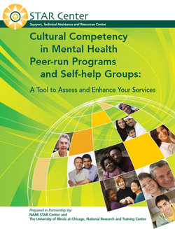 Graphic of the Cultural Competency Manual cover