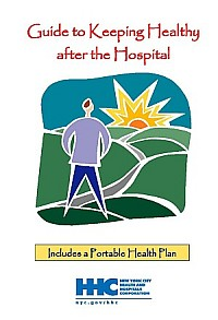 Graphic showing Keeping Healthy After the Hospital cover